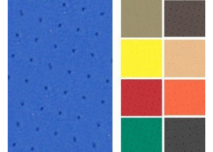 PE COLOR MICROPERFORATED 2, 5 mm. (6730 MP)