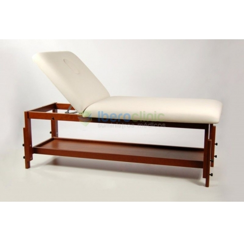 2 SECTION WOOD COUCH