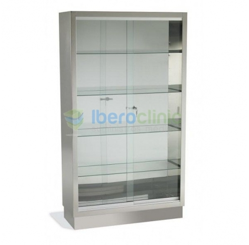SHOWCASE FOR INSTRUMENTAL WITH SLIDING DOORS