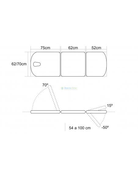ELECTRIC COUCH 3 SECTIONS