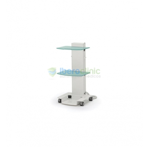 MOBILE CART ZILFOR C2RCHP TWO GLASES SHELVES ELECTRIC